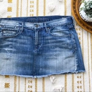 Citizens of Humanity denim skirt
